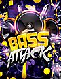 Bass Attack - Electro Flyer or CD Template