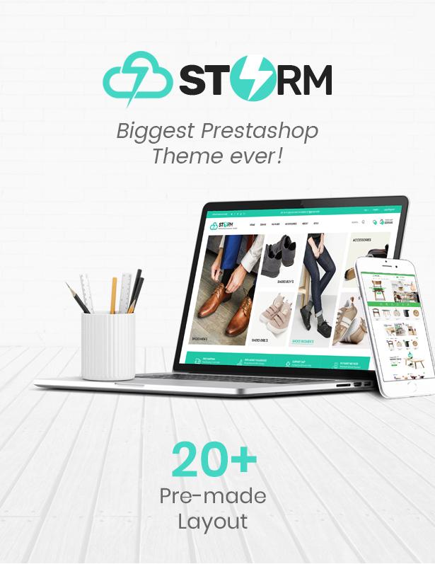 Storm Prestashop Theme