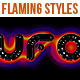 Flaming Styles for Black background