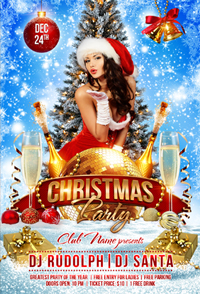 New Year Party Flyer Template - 12