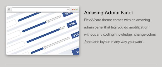 FlexyVcard - Responsive vCard Wordpress Theme - 14