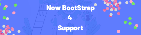 bootstrap 4 compatible classified spot html feature banner