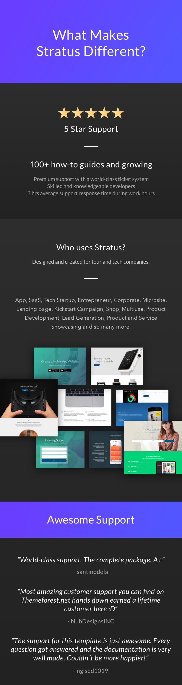 App, SaaS & Software Startup Tech Theme - Stratus - 7