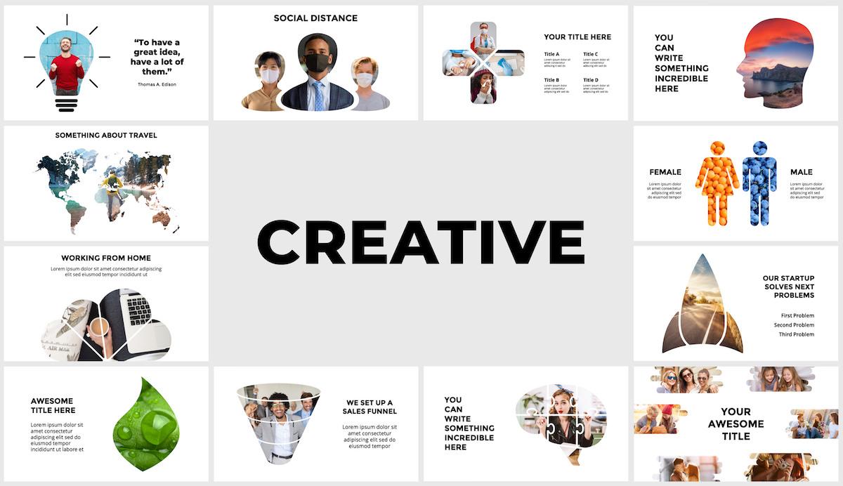 Huge Infographics Bundle! Lifetime Updates! PowerPoint, Photoshop, Illustrator. - 131