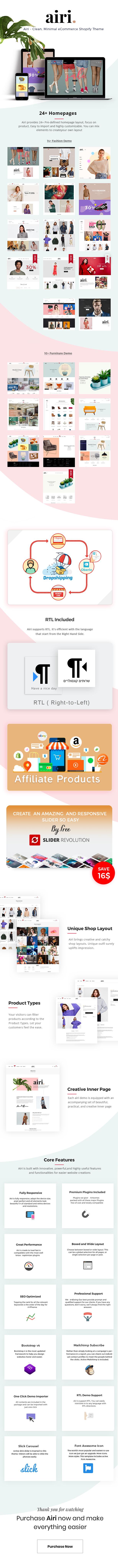Minimal Shopify Theme - Airi - 2