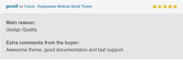 Futura - Responsive Minimal Ghost Theme - 4
