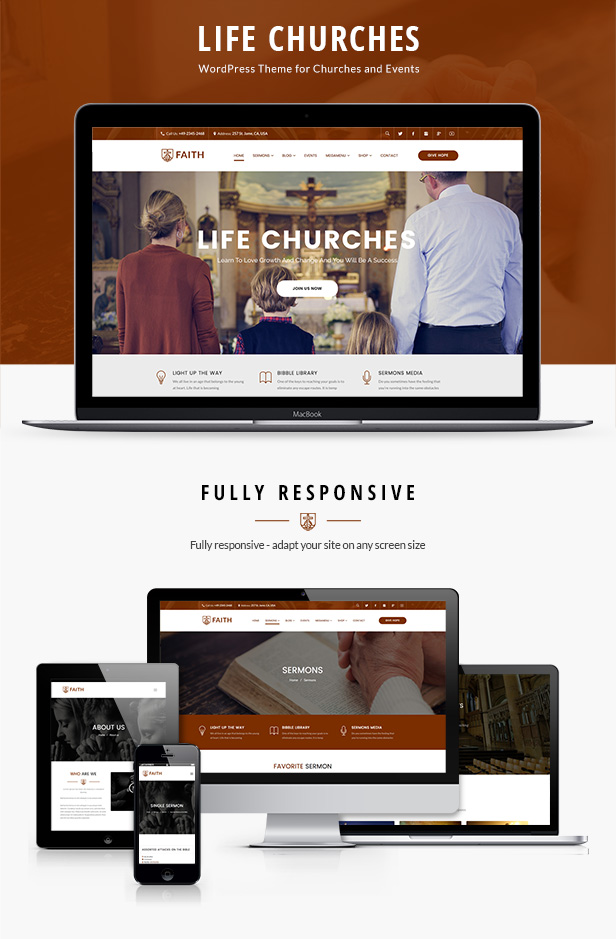 Life Churches - WordPress Theme for Churches and Events - 6