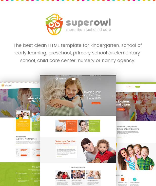superowl kindergarten school of early learning nanny agency html