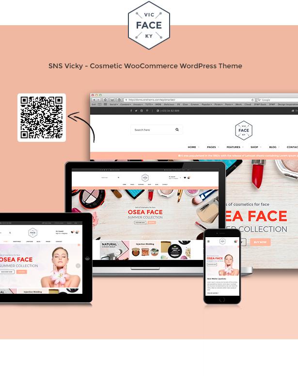 SNS Vicky - Cosmetic WooCommerce WordPress Theme - 3