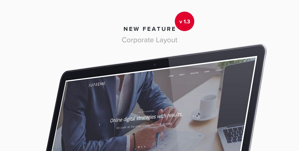 Supreme - Multi-Purpose HTML Template - 7