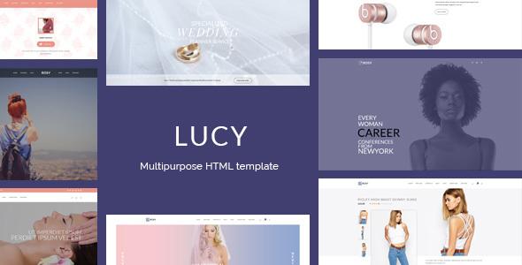 Lucy - Female readers focused multipurpose HTML template