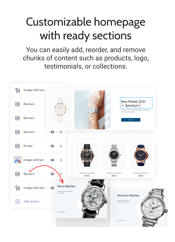 Timiza - Shopify Watch Store Theme - 4
