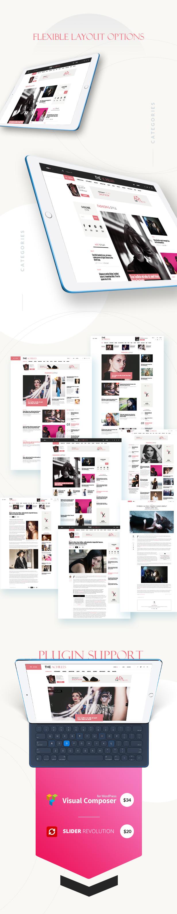Achilles - Multipurpose Magazine & Blog WordPress Theme - 12