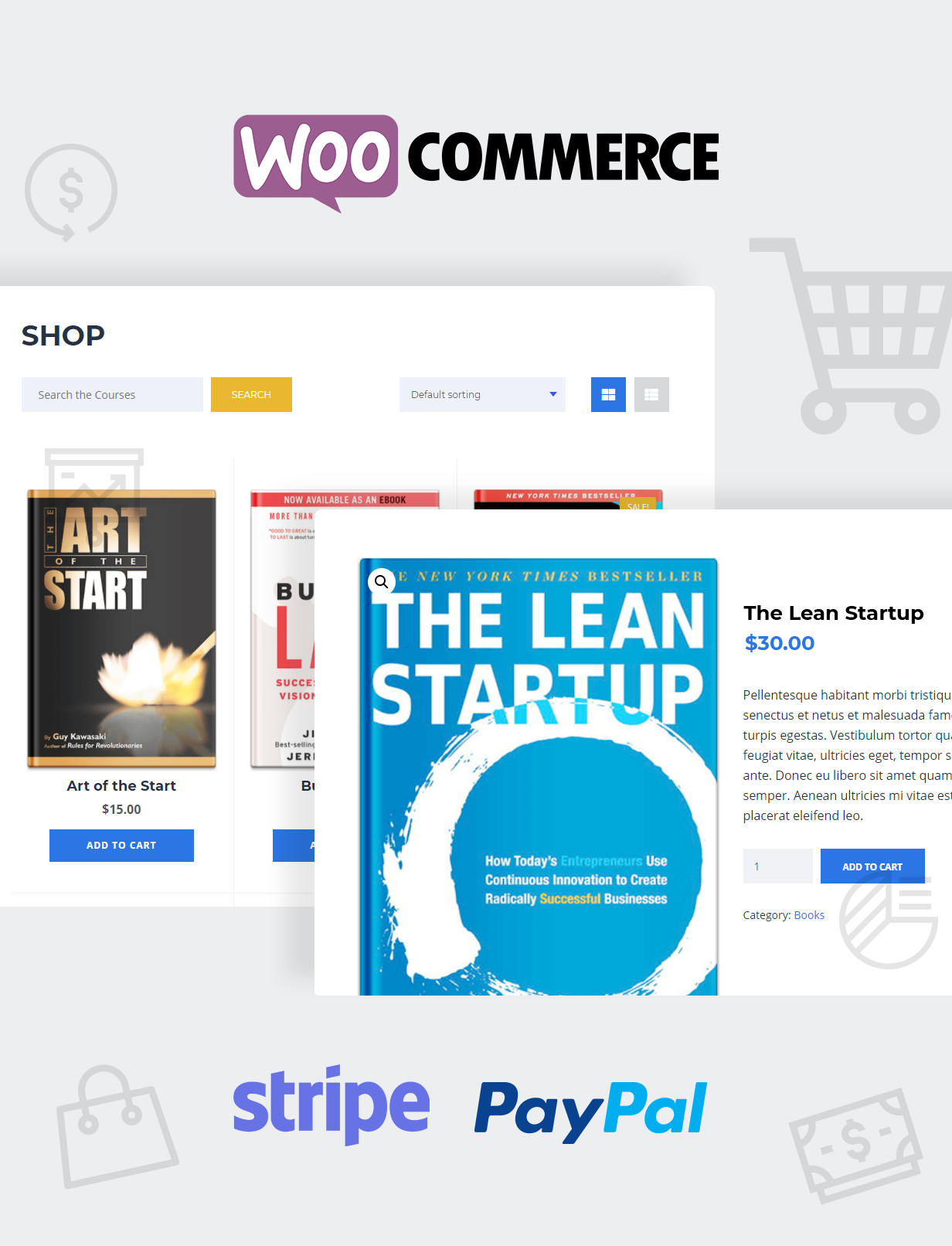 Education WordPress Theme WooCommerce Shop