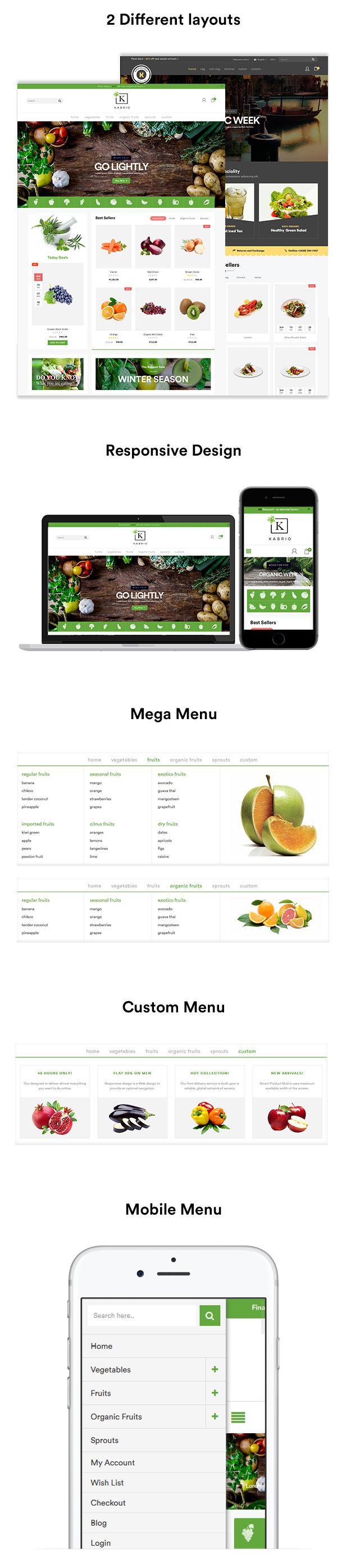 food HTML theme