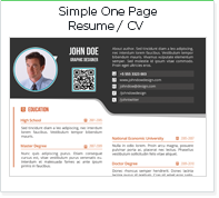 simple-one-page-resume-cv