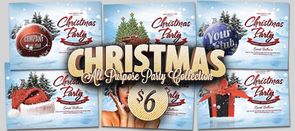 Christmas Multipurpose Flyer Template by Design Cloud