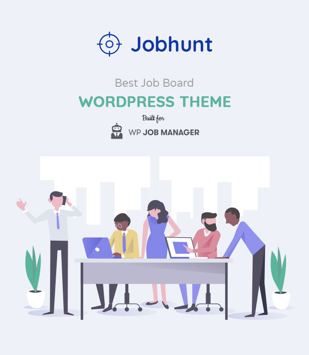 Jobhunt - Job Board WordPress theme for WP Job Manager - 5