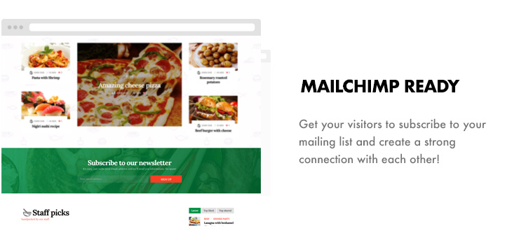 Foodbook - Recipe Community, Blog, Food & Restaurant Theme - 8