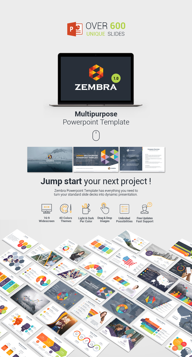 Kh2838s profile on themeforest check out my latest multipurpose powerpoint presentation template toneelgroepblik Image collections