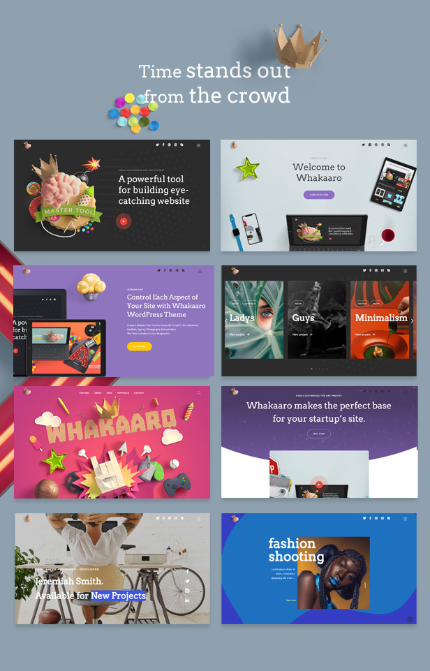 Whakaaro | Multi-Concept & One Page WordPress Theme - 3