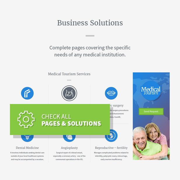 Medica - Clean, Responsive, Medical Joomla Theme - 4