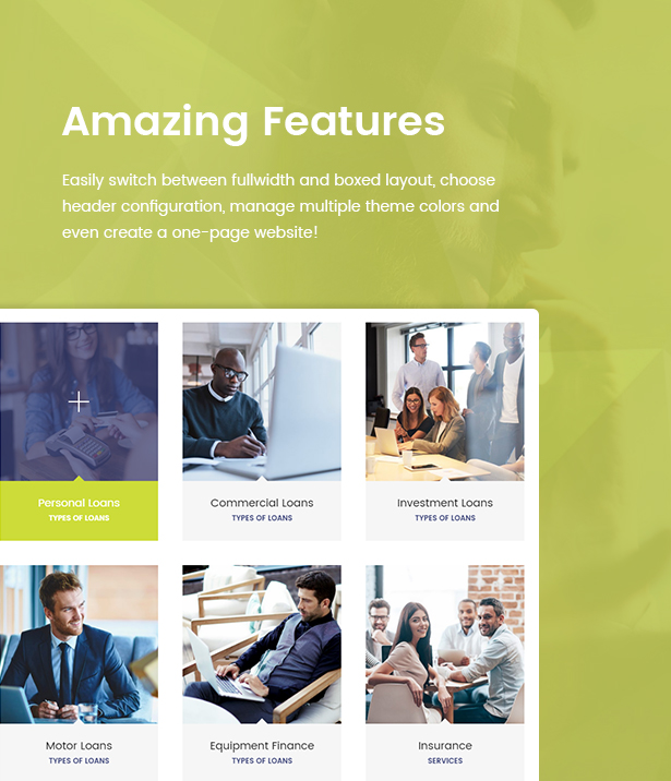 Payday Loans - Banking,  Loan Business and Finance WordPress Theme