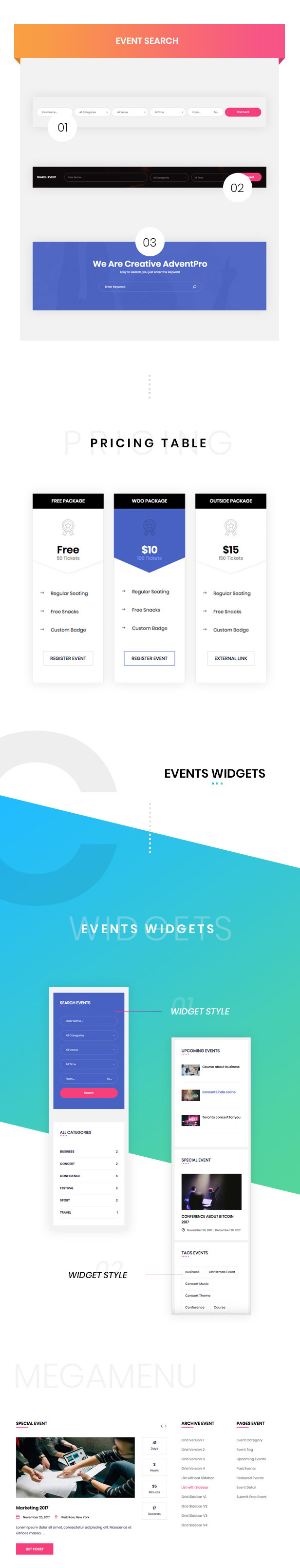 EM4U - Multiple Event & Conference WordPress Theme