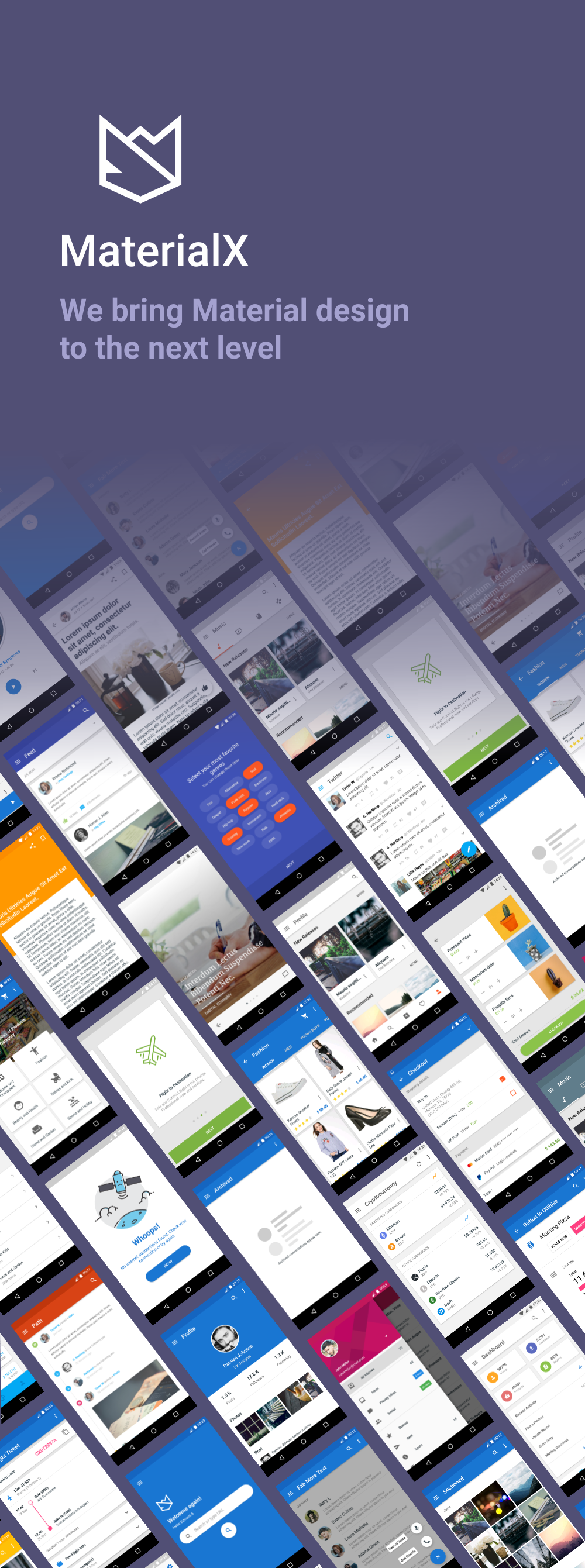 MaterialX - Android Material Design UI Components 2.6 - 1