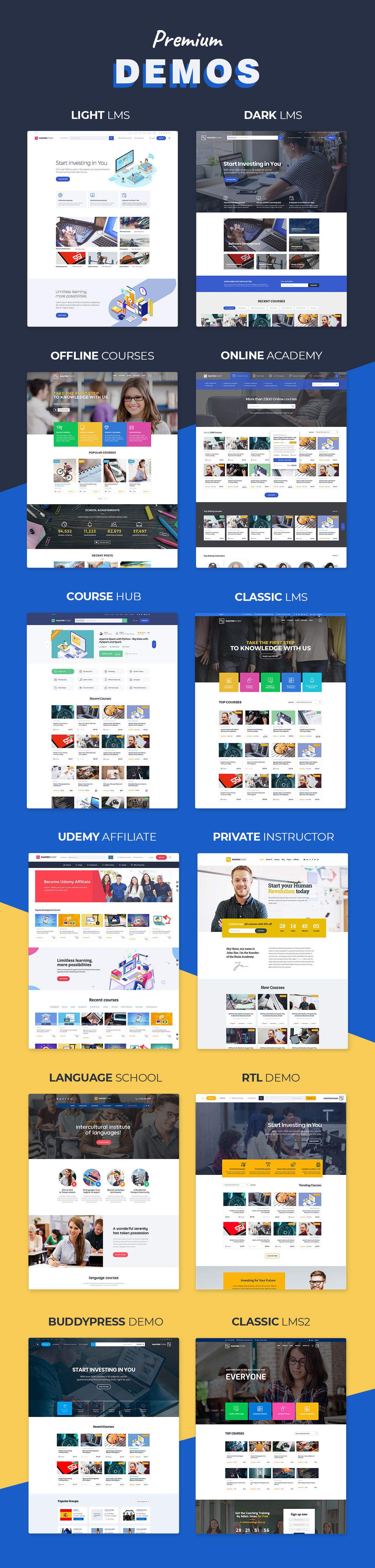 Education LMS WordPress theme