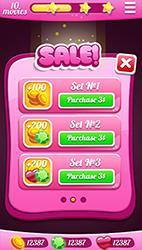 Candy Match-3 GUI - 4