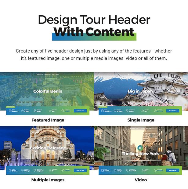 Travelicious - Tourism, Travel Agency & Tour Operator WordPress Theme - 2