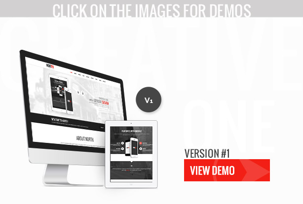 North - One Page Parallax WordPress Theme - 15