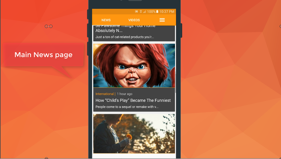 Flame Mobile Bundle Applications  Viral Media /News/Music/Video /Quizzes Script - 1