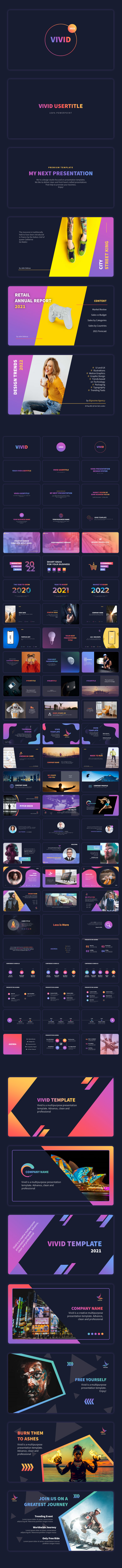 VIVID 2021 - Professional PowerPoint Presentation Template - 12