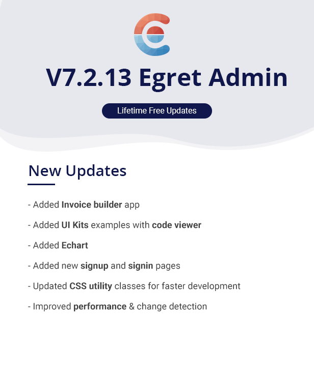 Egret - Angular 8+ Material Design Admin Template
