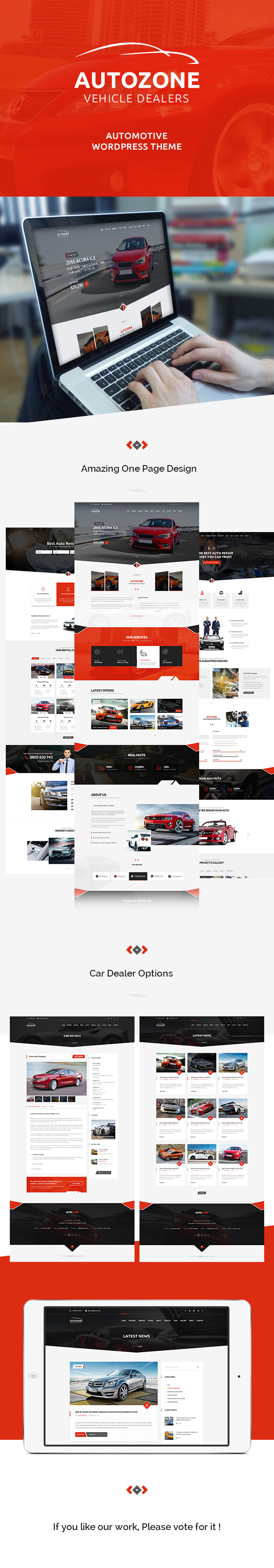 Autozone - Auto Dealer & Car Rental Theme - 5