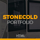 Stonecold - Flat & Minimalist Portfolio Template - ThemeForest Item for Sale