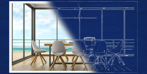 Blueprint to Photo Reveal - 2