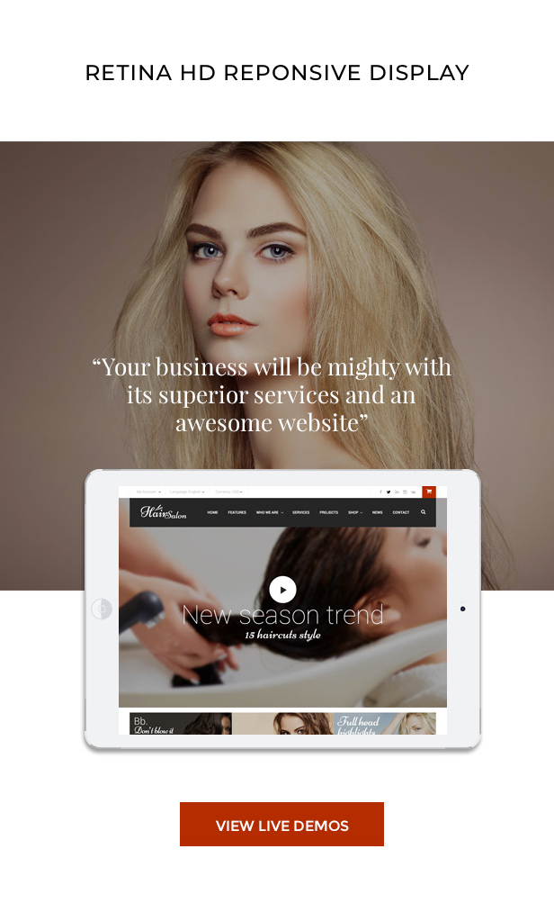 Hair Salon - Barber & Beauty Shop WordPress Theme - 7