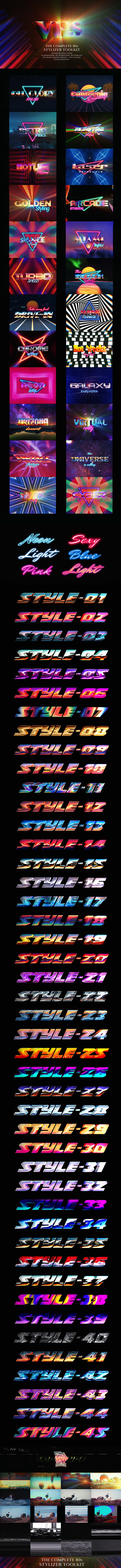 The Complete 80s Stylizer Toolkit - 1