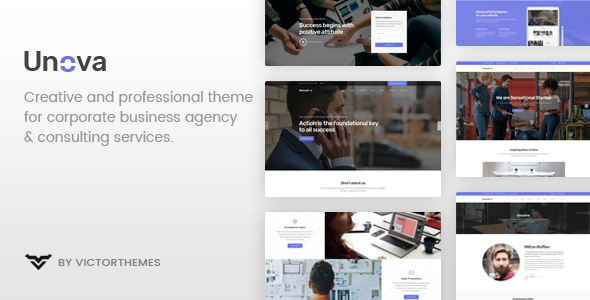 Unova - Consulting Business WordPress Theme