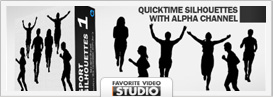 Active Life Rotating Silhouettes Pack - 15