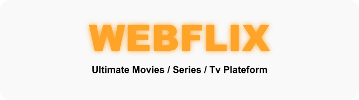 WebFlix - Movies - TV Series - Live TV Channels - Subscription - 1