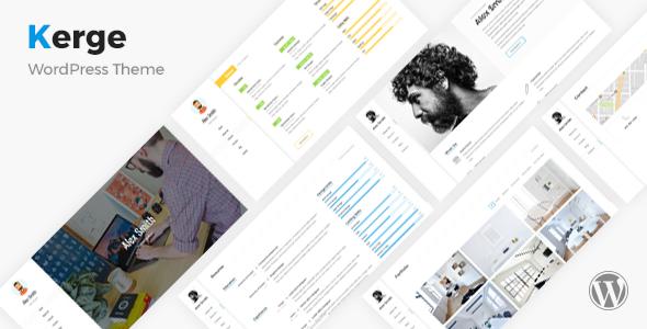 Kerge - vCard, Resume & Portfolio Theme - Portfolio Creative