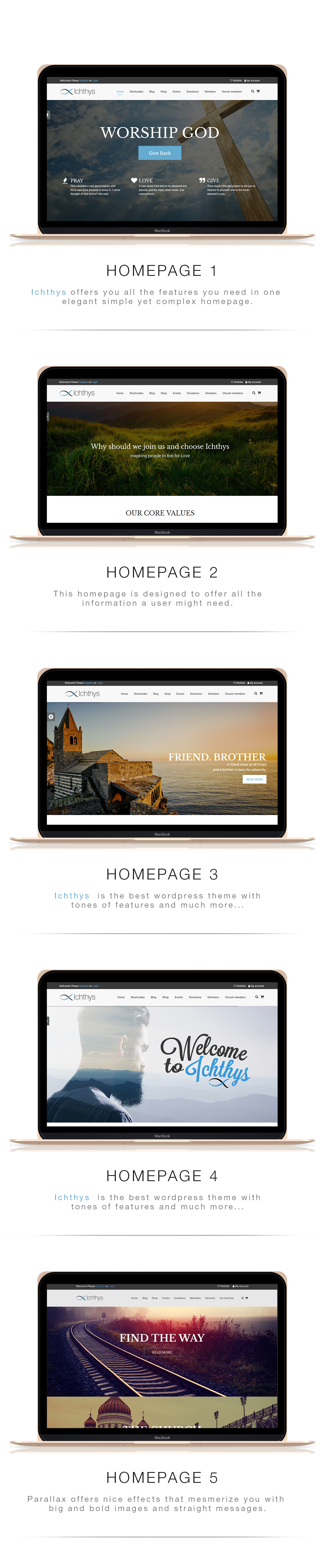 Ichthys - Church WordPress Theme - 4