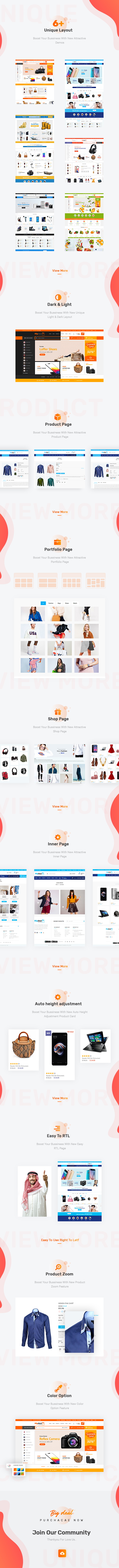 Bigdeal Multipurpose Ecommerce HTML Theme