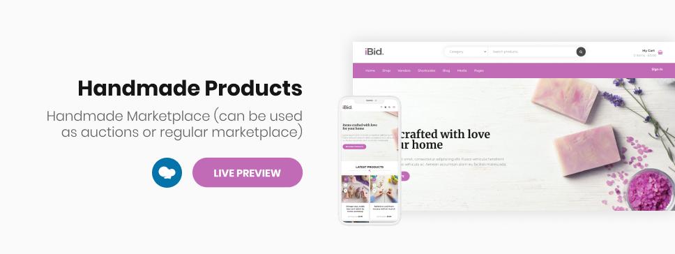 iBid - Multi Vendor Auctions WooCommerce Theme - 15