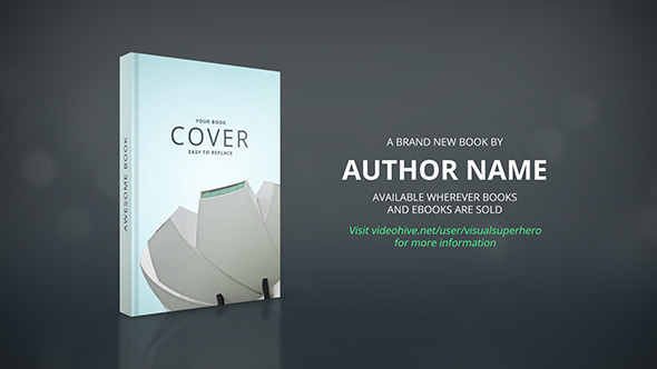 book promo by visualsuperhero videohive. Black Bedroom Furniture Sets. Home Design Ideas