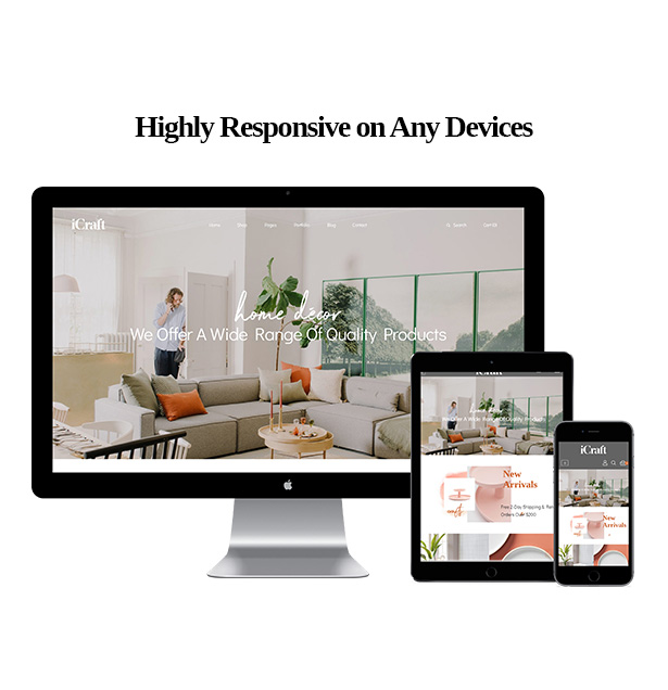 Highly Responsive on Any Devices